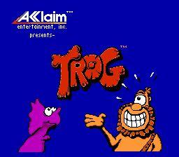 Nintendo Entertainment System NES Played Cartridge Game Trog!