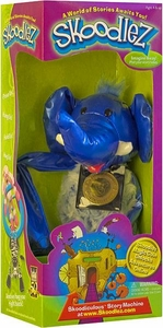Skoodlez Elephant Plush Toy with Samoleez Coin Tubular