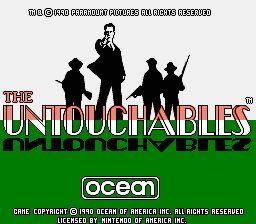 Nintendo Entertainment System NES Played Cartridge Game The Untouchables