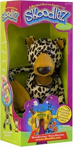 Skoodlez Leopard Plush Toy with Samoleez Coin Bachey