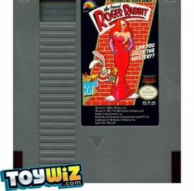 Nintendo Entertainment System NES Played Cartridge Game Who Framed Roger Rabbit with Instructions
