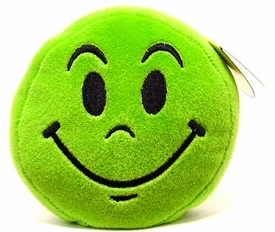 Wink Plush Toy Emoticons Smile Keychain [Random Color]