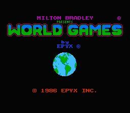 Nintendo Entertainment System NES Played Cartridge Game World Games