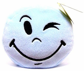 Wink Plush Toy Emoticons Wink Keychain [Random Color]