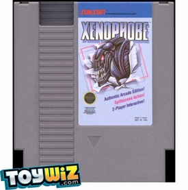 Nintendo Entertainment System NES Played Cartridge Game Xenophobe