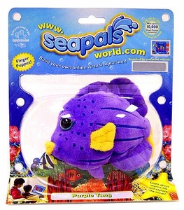 SeaPals Virtual SeaLife Plush Purple Tang