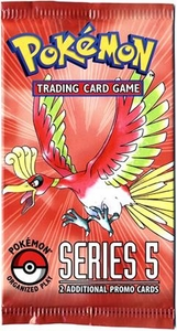 Pokemon Organized Play Series 5 Booster Pack [2 Cards]