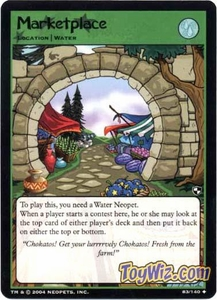 Neopets Trading Card Game Battle for Meridell Uncommon Single Card #83 Marketplace