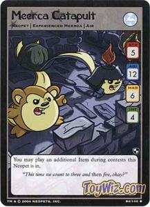 Neopets Trading Card Game Battle for Meridell Uncommon Single Card #84 Meerca Catapault