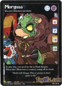 Neopets Trading Card Game Battle for Meridell Uncommon Single Card #86 Morguss