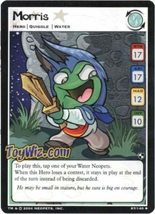 Neopets Trading Card Game Battle for Meridell Uncommon Single Card #87 Morris