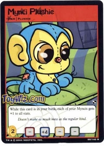 Neopets Trading Card Game Battle for Meridell Uncommon Single Card #88 Mynci Plushie