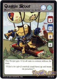 Neopets Trading Card Game Battle for Meridell Uncommon Single Card #92 Quiggle Scout