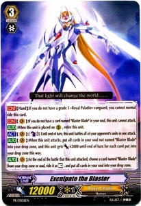 Cardfight Vanguard ENGLISH Comic Style Vol 1 Single Card Promo PR-0036EN  Exculpate The Blaster