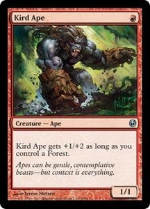 Magic the Gathering Duel Decks: Ajani vs. Nicol Bolas Single Card Red Uncommon #2 Kird Ape