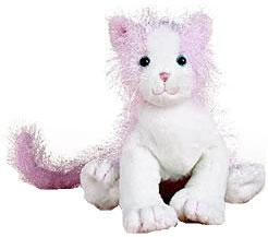 Webkinz Plush Pink & White Cat