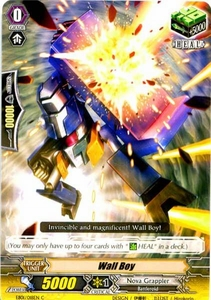 Cardfight Vanguard ENGLISH Comic Style Vol.1 Single Card Common EB01-018EN Wall Boy