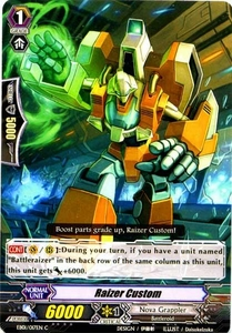Cardfight Vanguard ENGLISH Comic Style Vol.1 Single Card Common EB01-017EN Raizer Custom