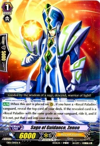 Cardfight Vanguard ENGLISH Comic Style Vol.1 Single Card Rare EB01-014EN Sage of Guidance, Zenon