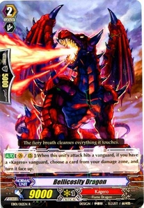 Cardfight Vanguard ENGLISH Comic Style Vol.1 Single Card Rare EB01-012EN Bellicosity Dragon