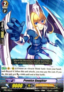 Cardfight Vanguard ENGLISH Comic Style Vol.1 Single Card Rare EB01-011EN Promise Daughter