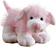 Webkinz Plush Pink & White Dog