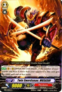 Cardfight Vanguard ENGLISH Comic Style Vol.1 Single Card Rare EB01-010EN Twin Swordsman, MUSASHI