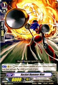 Cardfight Vanguard ENGLISH Comic Style Vol.1 Single Card Rare EB01-009EN Rocket Hammerman