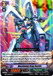 Cardfight Vanguard ENGLISH Comic Style Vol.1 Single Card RR Rare EB01-005EN Machining Stag Beetle