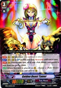 Cardfight Vanguard ENGLISH Comic Style Vol.1 Single Card RR Rare EB01-004EN Golden Beast Tamer