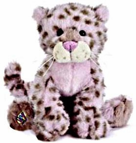 Webkinz Plush Strawberry Cloud Leopard