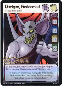 Neopets Trading Card Game Battle for Meridell Holofoil Rare Single Card #4 Darigan Redeemed