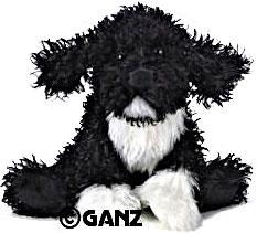 Webkinz Plush Portuguese Water Dog