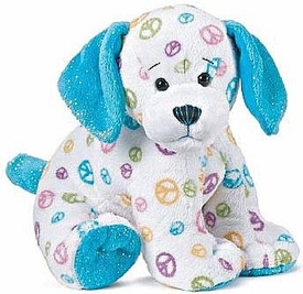Webkinz Plush Peace Puppy