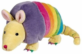 Webkinz Plush Rainbow Armadillo