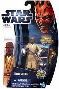 Star Wars 2012 Clone Wars Action Figure #08 Mace Windu