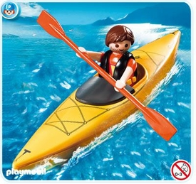 Playmobil Harbor Set #5132 Kayaker