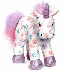 Webkinz Plush Peace Unicorn
