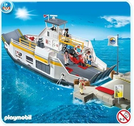 Playmobil Harbor Set #5127 Car Ferry with Pier