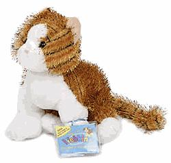 Webkinz Plush Striped Alley Cat