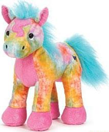 Webkinz Plush Tie Dyed Pony