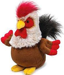 Webkinz Plush Rockabilly Rooster