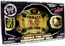 WWE Jakks Pacific Kids Wrestling As Seen On RAW World Tag Team Championship Belt [Boxed Edition]