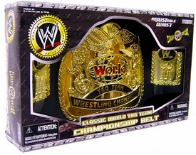 WWE Wrestling Jakks Pacific Kids Classic World Tag Team Championship Belt [Boxed Edition]