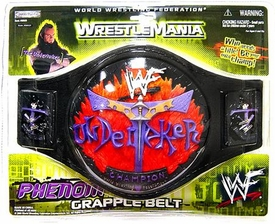 WWE Wrestling Jakks Pacific Kids Undertaker Championship Belt