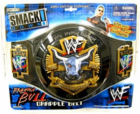 WWE Smack Down Kids The Rock Brahma Bull Belt