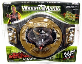 WWE Jakks Pacific Kids Smack Down Stone Cold Rattlesnake Belt [Random Packaging]
