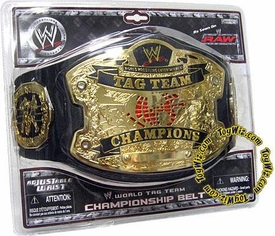 WWE Wrestling Jakks Pacific Kids RAW Tag Team Champions Belt