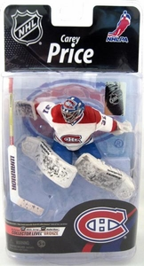 McFarlane Toys NHL Sports Picks Series 26 Action Figure Carey Price (Montreal Canadiens) White Jersey Bronze Collector Level Chase Only 1,500 Made!