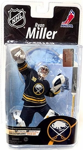 McFarlane Toys NHL Sports Picks Series 26 Action Figure Ryan Miller (Buffalo Sabres) Blue Jersey